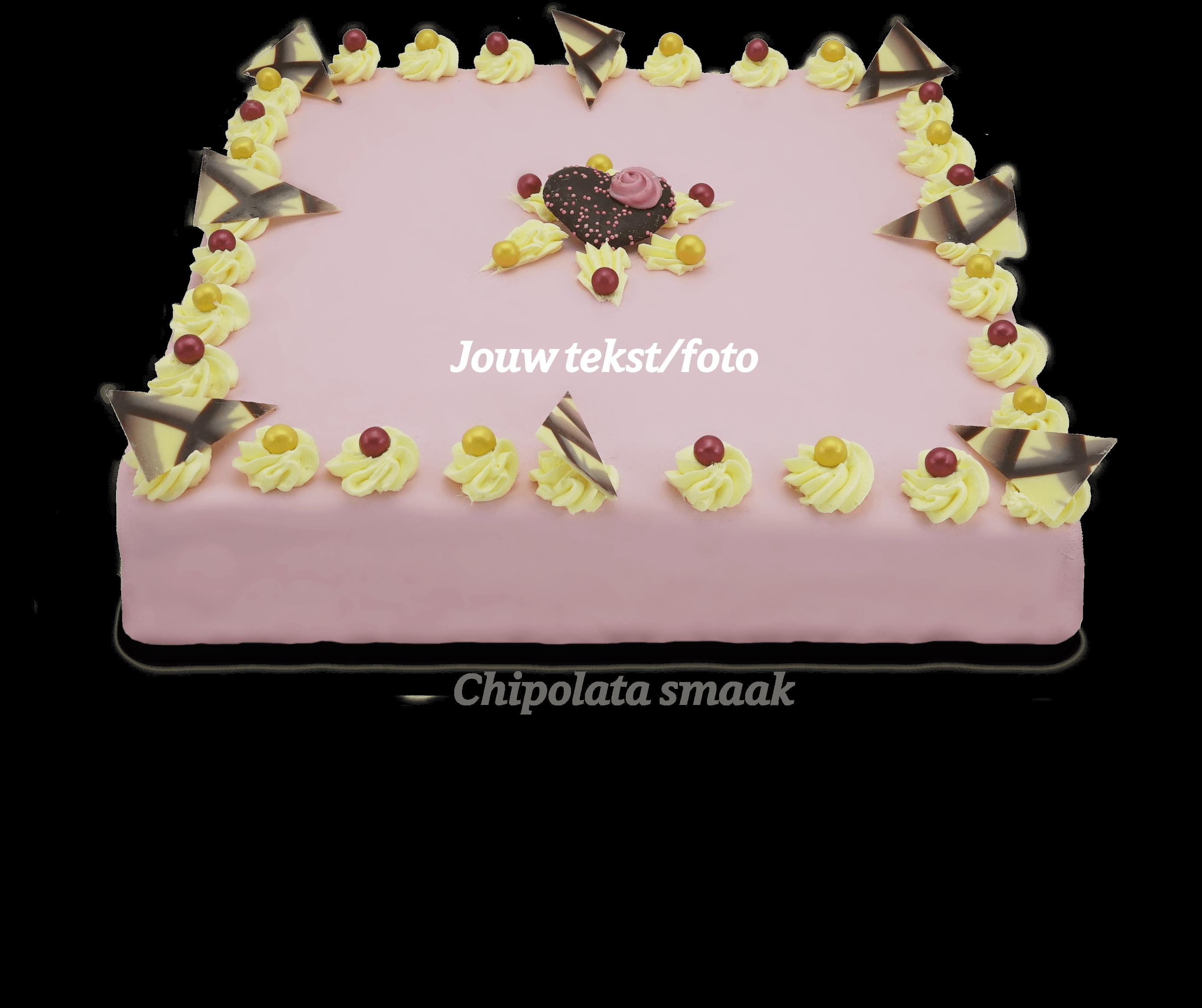 Chipolata taart foto taart bakkerij kwakman 1