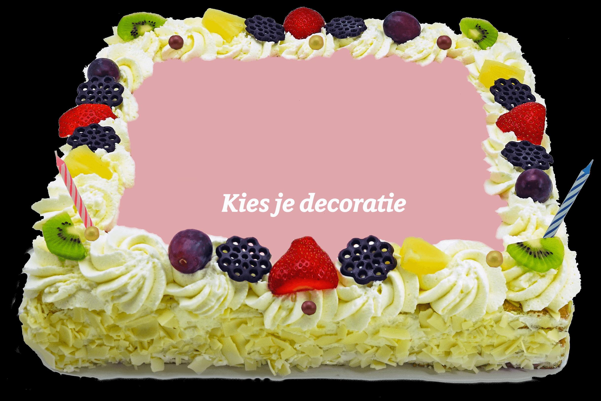 Decoratie taart bakkerij kwakman 2