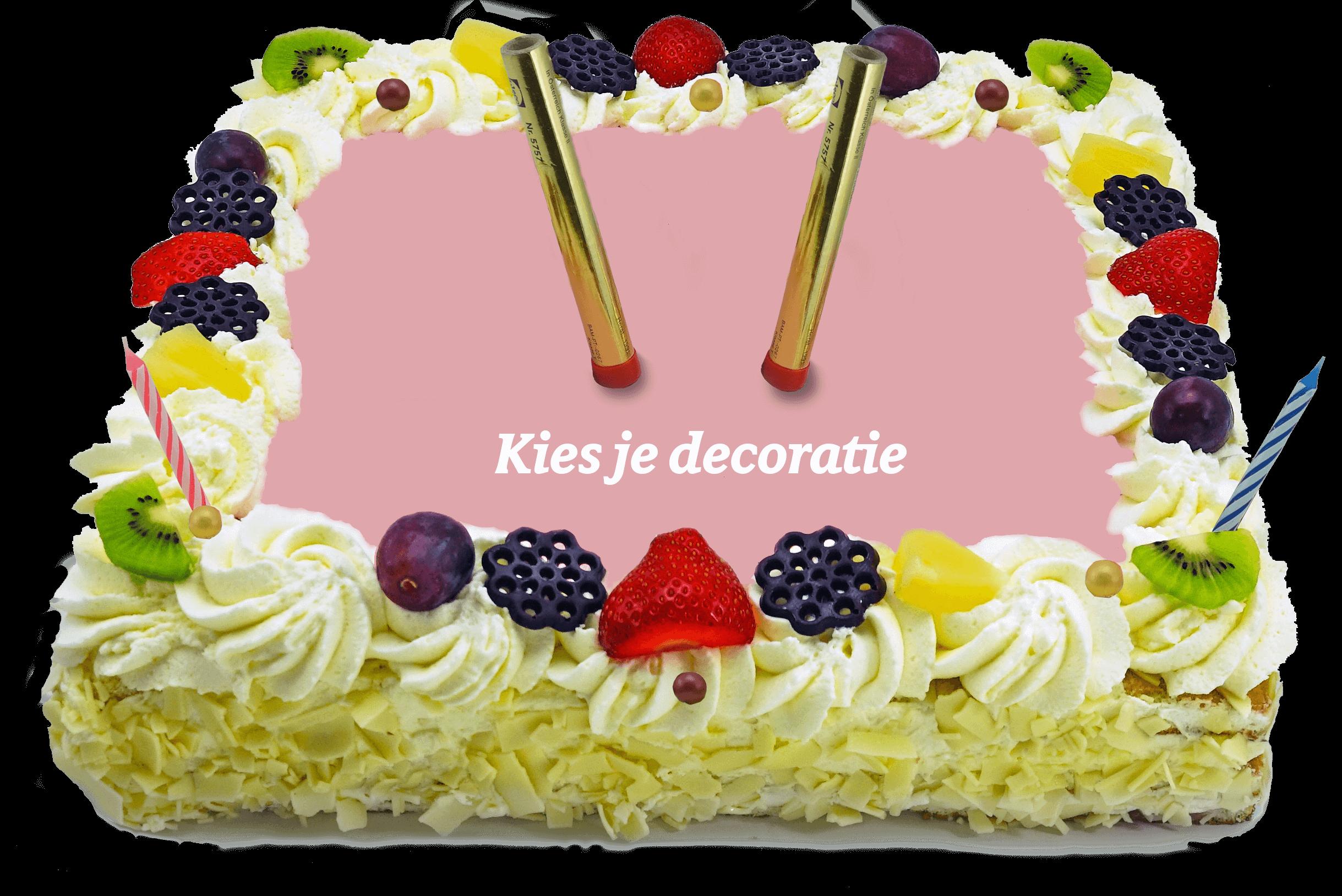 Decoratie taart bakkerij kwakman 3