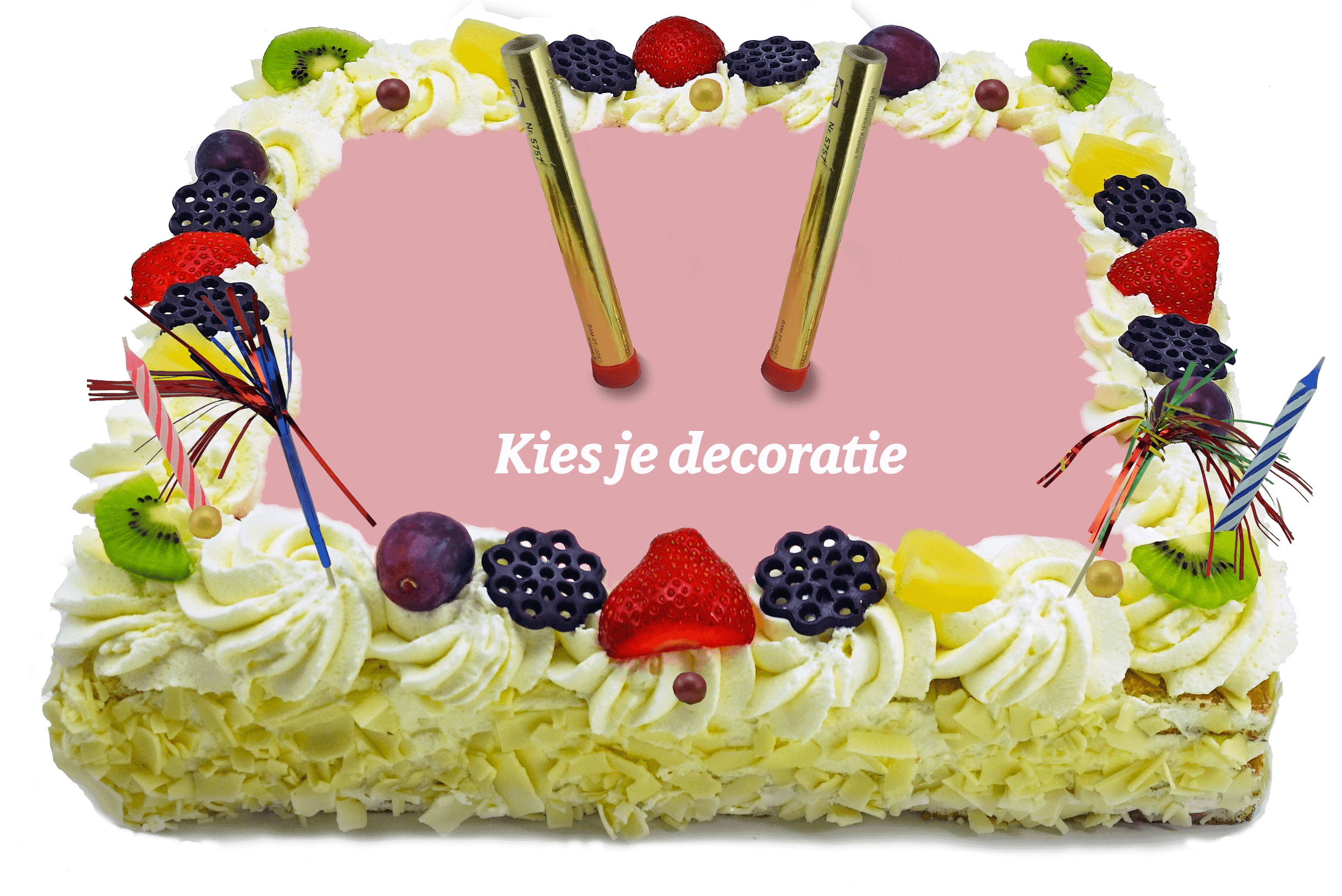 Decoratie taart bakkerij kwakman 4