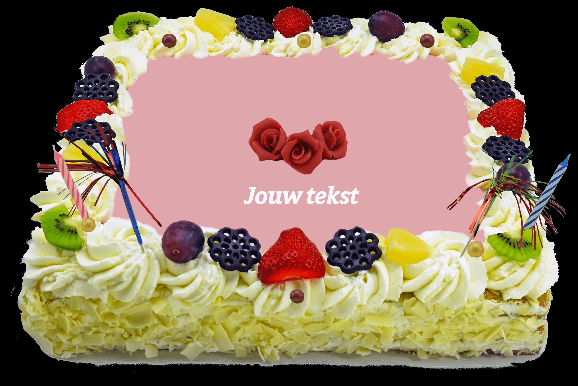 Decoratie taart bakkerij kwakman 7