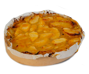 Appel abrikoos-taartje de echte bakker Kwakman