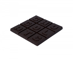 Chocolade Tablet Letters Puur (klein)