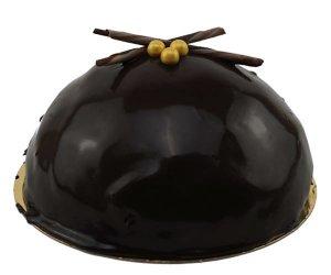 Chocolade bol taartje bakkerij kwakman