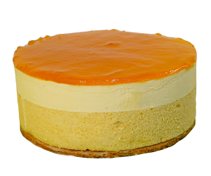 Mango passievruchten taart de echte bakker Kwakman