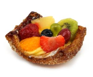 Vruchten schelp Bakkerij Kwakman